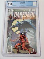 Daredevil #158 Cgc 9.0 First Frank Miller