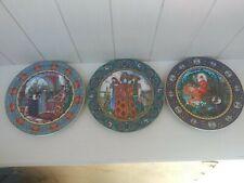 3 Villeroy Boch Heinrich Fairy Tales Plate Vassilissa W certificate authenticity