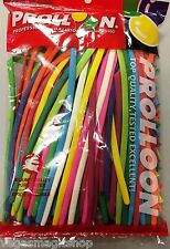 260 Size Pencil Animal Balloons Assort Colors Twisting Sculpting Modeling 100 ct