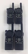 Motorola CLS1110 5-Mile 1-Channel UHF Two Way Radio Great Condition Lot of 4