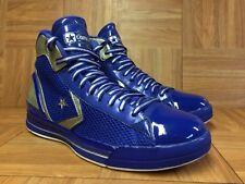 VTG🔥 Converse Star Player EVO PRO Mid Blue Royal Silver Gray Sz 12 Men's Shoes
