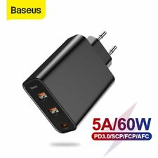Baseus USB Type C Wall Charger QC4.0 PD 3.0 Power Adapter for iPhone Samsung EU