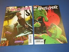 Ghost Spider #4,5 lot of 2 VF to NM- Beauties Spider-man