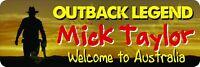 Mick Taylor No. 2 Outback Legend Bumper Sticker