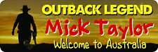 Mick Taylor No. 2 Outback Legend Bumper Sticker