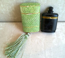 Vintage NUIT DE NOEL by CARON Parfum Bottle Original Tassel Box Paris France