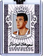 DOLPH SCHAYES SPORTKINGS AUTOGRAPH /90 A-DS auto Silver