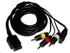 Playstation S-VIDEO & COMPOSITE Cable for PS2, PS3, Slim S AV Cord - !US Seller!