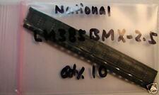National Lm385Bmx-2.5 Voltage Reference, So-8, 10pcs