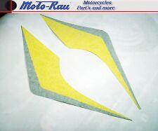 Aprilia SR 50 AC Aufkleber Sticker Dekorsatz Aufklebersatz Unterverkleidung gelb