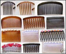 Lot de 2/4/6/12  peignes à cheveux chignon /Kamm/comb-modèle a choix