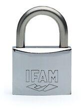 Keyed Alike IFAM Marine Padlock 30mm. Salt Spray Tested. One key fits all.