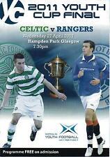 Rangers v Celtic 27/04/11 - Youth Cup Final
