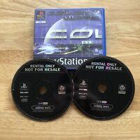 Colony Wars - Playstation 1 PS1 - PAL - BLOCKBUSTER EX RENTAL - Retro