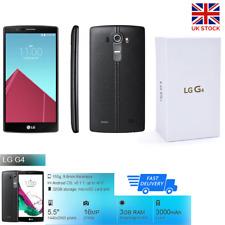 "New LG G4 H815 Memory 32GB RAM 3GB Camera 16MP 5.5"" inch 4G Smartphone Black"