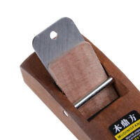 Woodworking Flat Plane Wooden Hand Planer Mini Carpenter Woodcraft DIY Tool NIB$