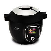 Tefal Cook4Me+ CY851840 6 Litres Intelligent Multi Cooker & Recipes Black