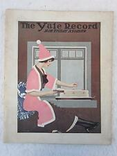 Vintage YALE RECORD Magazine March 31, 1913 Poems / Cartoons / Humor
