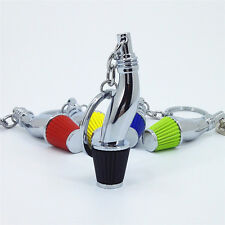 Black Car Part Model Turbo Key Ring Keyring Keyfob Holder Filter Keychain