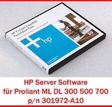 Hp Server Software Proliant DL580 DL585 DL760 DL785 DL320 DL360 301972-A10 #S6
