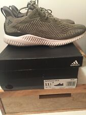 adidas Alphabounce EM M Men's Running Shoes: Olive/Gray BW1203 NEW/other Sz 11.5