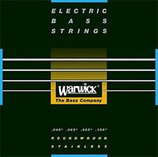 WARWICK BLACK LABEL 40200 M Bass-Saiten 4-str. 045-105 Strings NEU! OVP!