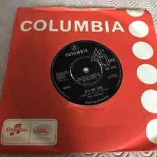 The Animals - It's My Life - DB 7741 - Original Single 1965