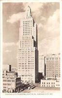 C71/ Kansas City Missouri Mo Photo RPPC Postcard 1930s Power & Light Building