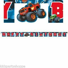 BLAZE and the Monster Machines BIRTHDAYJointed BANNER Party Supplies Decorations