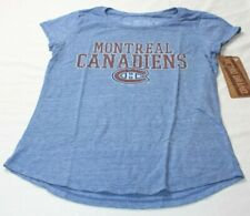eb962a5a7 Montreal Canadiens NHL Original Retro Brand Girls Tri-Blend T-Shirt Size  Large