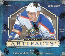 2008-09 Upper Deck Artifacts Factory Sealed Hockey Hobby Box  Gordie Howe AUTO ?