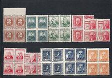 REPÚBLICA ESPAÑOLA.Años 1936-38.Personajes.