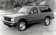 1989 Vintage Photo Chevrolet S-10 Blazer 4 x 4 with Laredo Uniroyal Tires