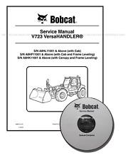 Bobcat V723 VersaHANDLER Workshop Repair Service Manual CD + Download 6986675