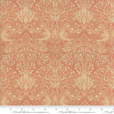 MODA Fabric ~ WILLIAM MORRIS 2017 ~ by V & A Archives (7301 12) Rose - by 1/2 yd