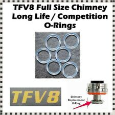 6 - TFV8 Beast Chimney Long Life Competition Orings ( ORing O-Rings smok Seals )