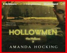 Hollowmen by Amanda Hocking Unabridged CD Audiobook 2012 Hard Plastic Case NEW