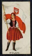 More details for (gj534-100) j. & f. bell, women of all nations, rare, #53 polen 1925 g-vg