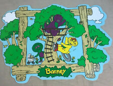 Barney And Friends Placemats 1990s Tv Show PBS 1996 Lyons group Backyard BJ baby