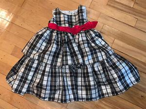Borlai Baby M/ädchen Outfit Kleidung Kleid Fashion Anzug Hemd Stirnband 3-teiliges Set Casual Outfits f/ür 1-6 Jahre Sommer Rock Set Gestreifter Swing Rock