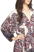 New Free People Women Boho Say You Love Me Ivory Tunic Dress XS S M L