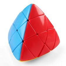 MASCARELLO Pyramid Magic Cube Pyraminx Sticerless Cube Puzzle Brain Teaser 3D