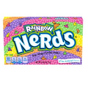 Wonka Regenbogen Nerds (141g) Theater Kiste Amerikanischer Candy Kurz Datiert