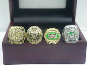 4 PCs 1966 1967 1996 2010 Green Bay Packers World Championship Ring --/--