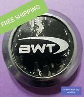 BWT Aftermarket Wheel Rim Black & Chrome 2 1/2 Center Cap Hub Dust Cover  CAP89B