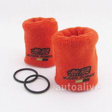 Pair Fire Proof Tank Reservoir Sock Cover Mugen Power for Honda Acura Civic JDM
