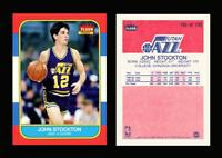 1986 Fleer Basketball John Stockton Jazz Rookie Custom Card Display Only!