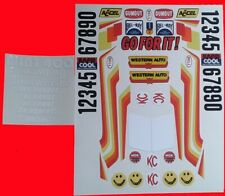 SUPER CHAMP CUSTOM DECALS STICKERS WILL FIT MUST 1/10th RC  TAMIYA KYOSHO LOSI