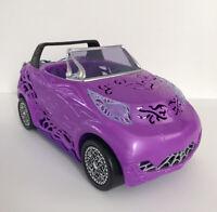 Monster High Scaris City Of Frights Purple Convertible Car Mattel 2012