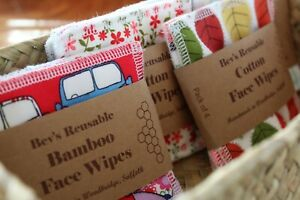 Organic Bamboo Face Wipes | Reusable Makeup Remover Pads | Eco Gift